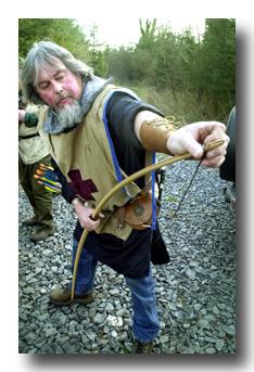 Fabricacion de un arco vikingo en tejo. String